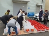 아산시 온양5동 여성자원봉사단, 취약계층에 식생활 용품 나눔행사 펼쳐