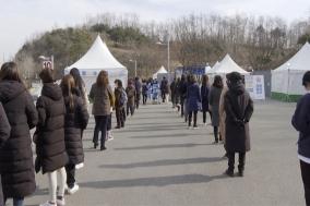코로나19를 대한민국서 처음 만난 아산시, 지난 1년의 모습은?