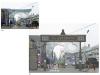 온양온천시장 상징간판, '대대적 보수'…시장 얼굴 달라진다