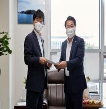 국회 찾은 오세현 시장, 2022년 지역현안 건의 및 정부예산 확보 '총력'