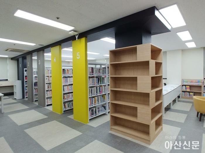 5. 아산시 근로자복지관 작은 도서관, 새롭게 7월 15일 재개관.jpg