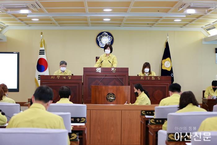 지난 제220회 임시회 본회의 개회장면.JPG